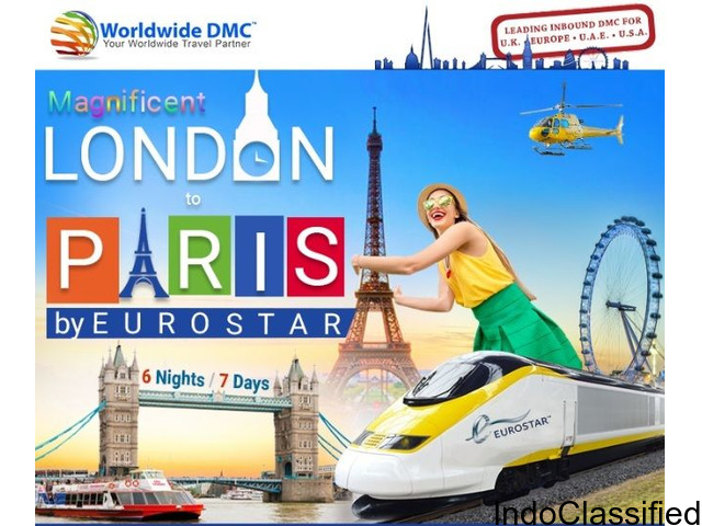 London to Paris: 7 Days Complete Tour Package with Eurostar