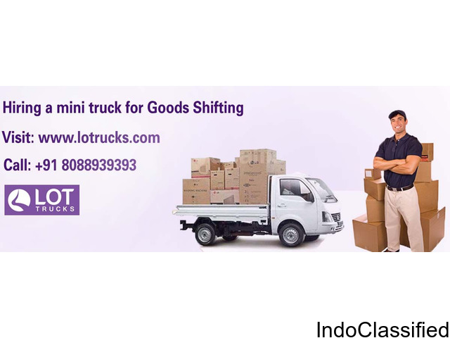 Hire Mini Trucks Rental in Bangalore – Lotrucks.com