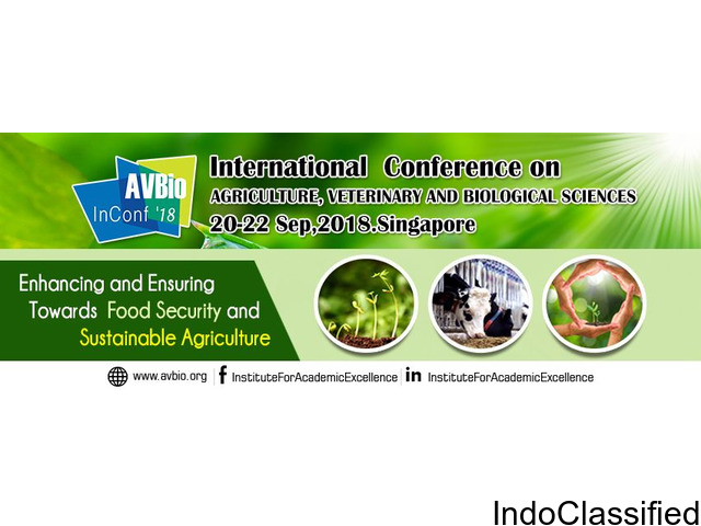 International Conference on Agriculture at Singapore