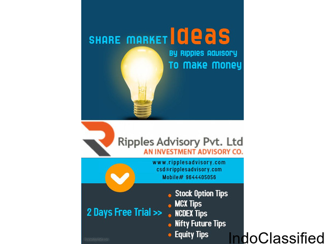 Share Market Tips And Services By Ripples Advisory