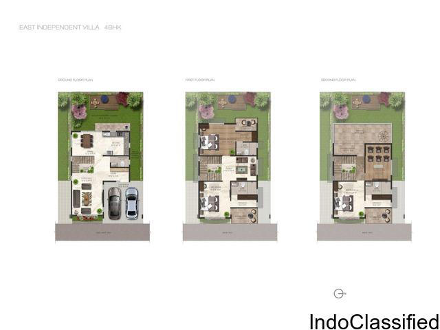 4 BHK Independent Style Row houses near chandapura , electronic city