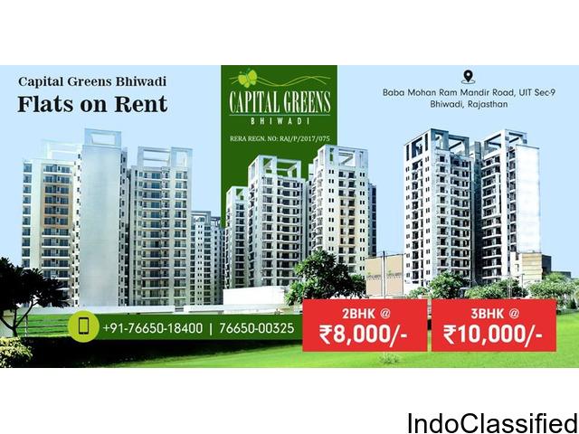 2 & 3 BHK Flats on Rent in Bhiwadi - Capital Greens Bhiwadi