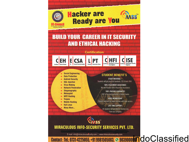 ethical hacking coaching institute with ec council certification