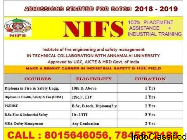 International safety courses in nagercoil