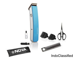 Nova Cordless Trimmer for Men (Blue)