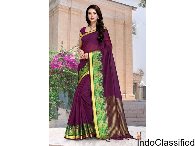 Buy Sarees Online | Latest Designer Sarees Collection | Zinnga