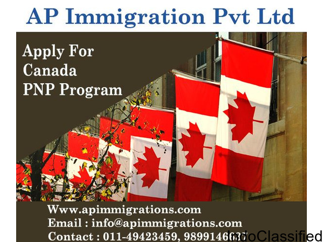 Apply as a provincial nominee program for Canadian