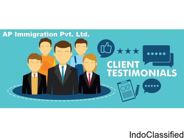 Testimonials and Customer Reviews | AP Immigration