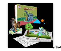 Augmented Reality Educational Kits Scifikids : 2-6 Years For Kids