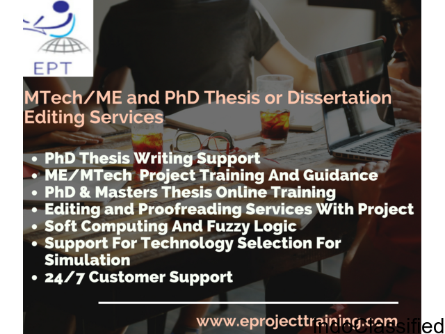 Preparing Project Thesis And Consultant Services In karela