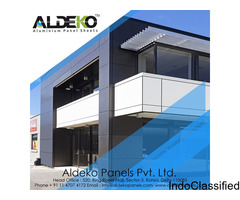 Get Aluminum Composite Panel for your Dream home at Reasonable Price