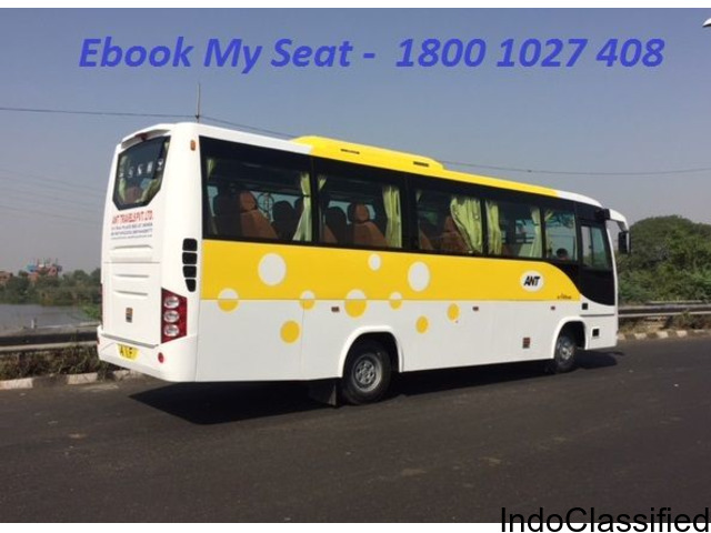 Lucknow to Delhi Volvo Sleeper Bus Ticket Booking