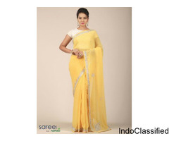 Georgette Sarees at Saree.com