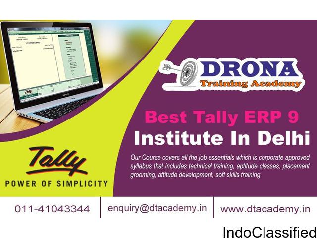 Best tally ERP9 Training Institute in Delhi
