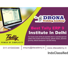 Best tally ERP9 Training Institute in Delhi