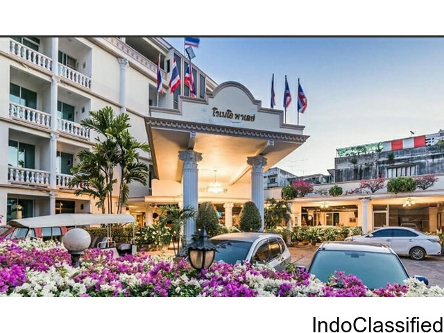 "Romeo Palace Hotel is situated at the tranquil end of north Pattaya, ""the city that never sleeps"