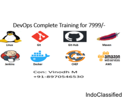 DevOps Complete Training in Telugu/English for 7999/-
