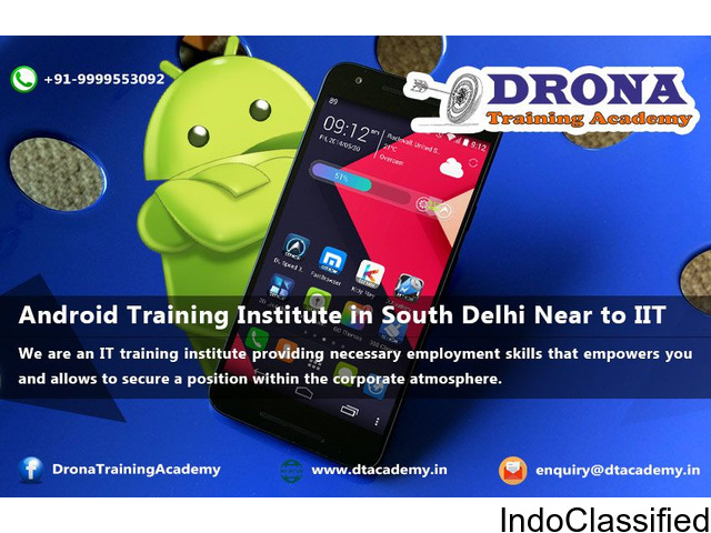 Android Training Institute in South Delhi