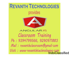 AngularJS Classroom Training Institute