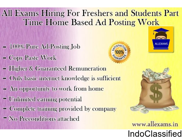 Earn in lacs per month from home with simple internet based job