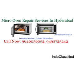 Micro Oven Service Centre in Hyderabad