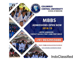 Columbus Central University, Belize - MBBS in Central America.