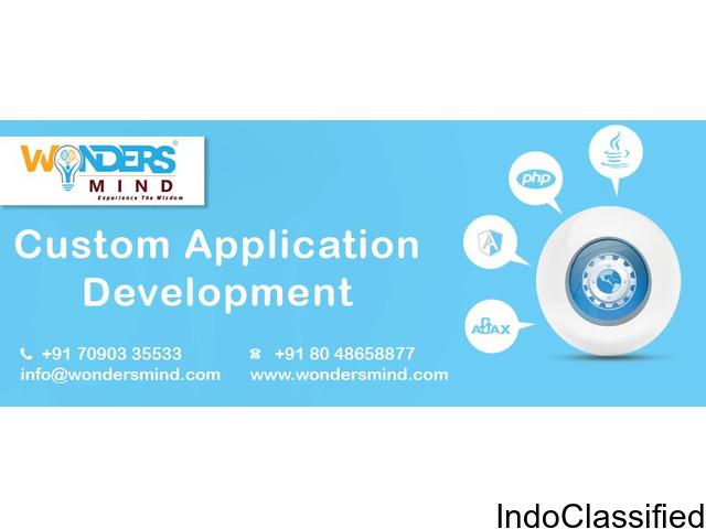 Custom Application Development Company in Bangalore - wondersmind