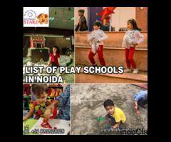 List of Play Schools in Noida | Play Schools in Noida