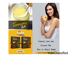 Inner Beauty With Golden Milk - Ravya Drinks