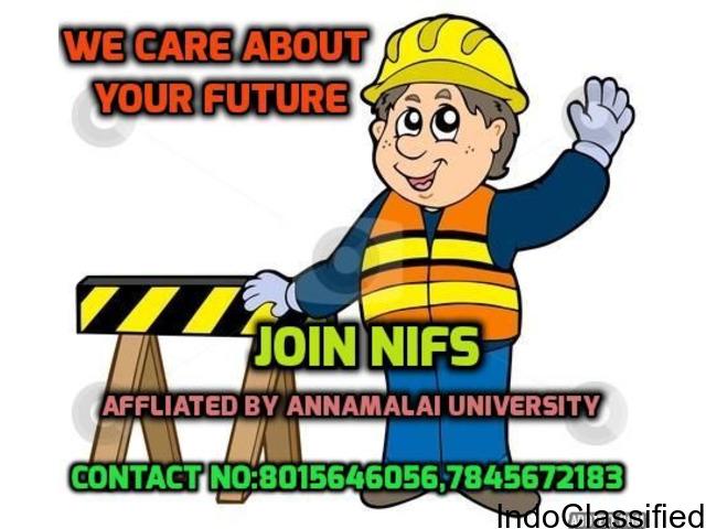 ANNAMALAI UNIVERSITY NIFS FIRE AND SAFETY INSTITUTION