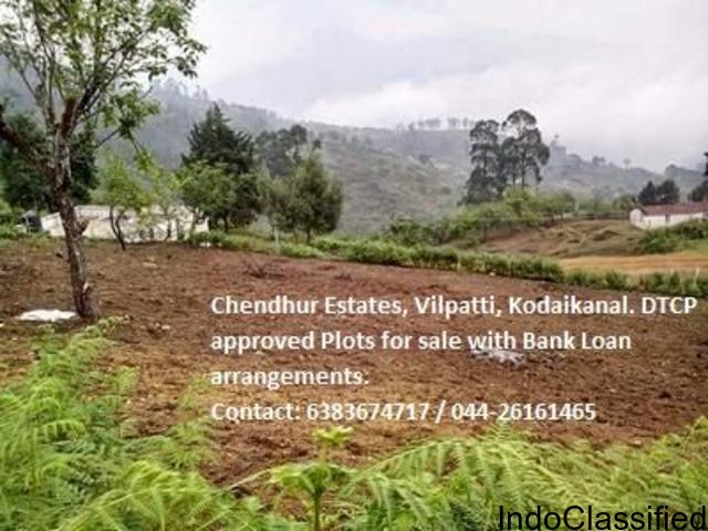 Mega Sale-DTCP approved Residential Plots - Vilpatti - Kodaikanal