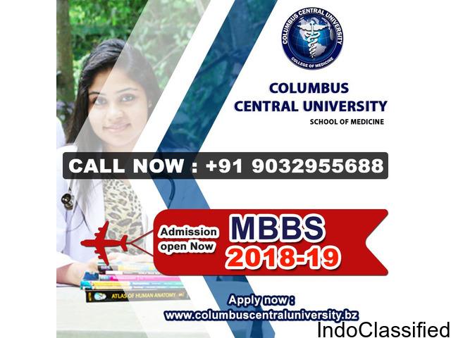 Columbus Central University School of Medicine, belize   Admissions Open 2018-19?