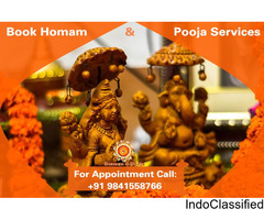 Hoamam and Pooja Services in Chennai – shastrigal.net