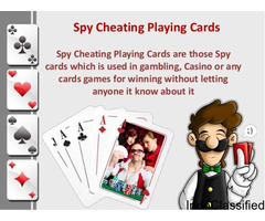 Spy Invisible Marked Plastic Cards with Soft Contact Lenses Dark Purple Grade A  8800809593