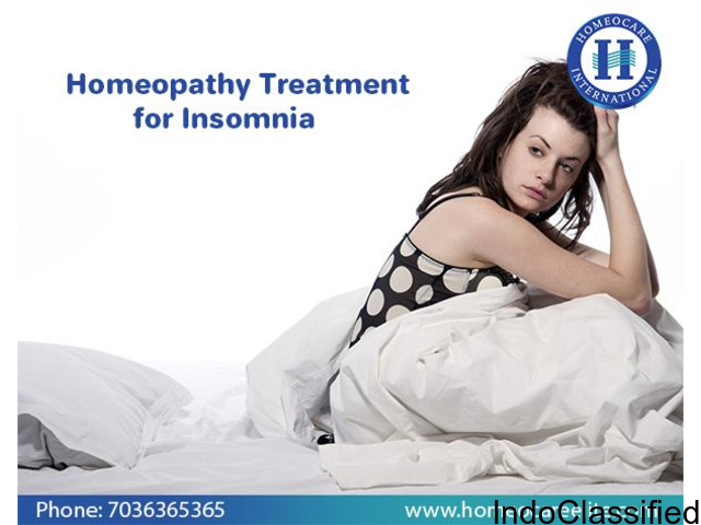 Insomnia treatment in Homeopathy