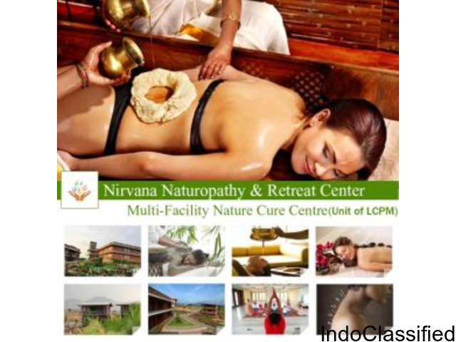 Enjoy Unique Facilities for Grooming Whole Body in Nirvana Naturopathy