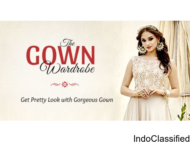 Buy Gown, Online Gown Shopping, Affordable Gown in India