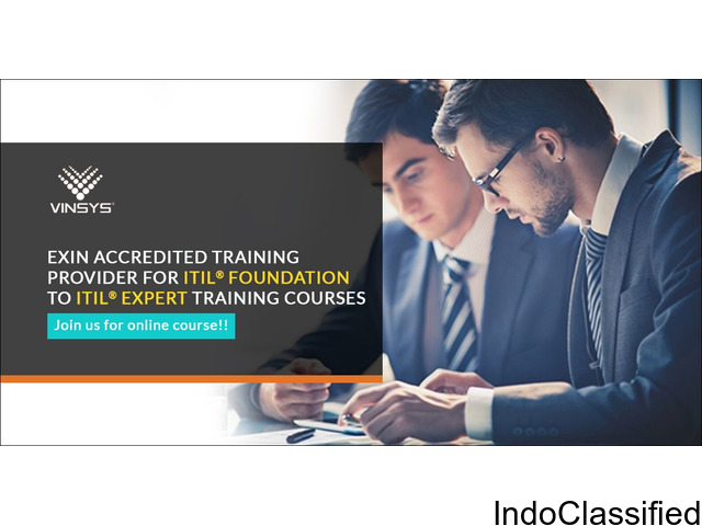 ITIL Foundation Certification Training in Pune   ITIL exam in Pune   Vinsys
