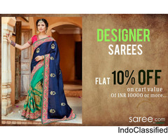 Indian Designer Sarees Online at Saree.com