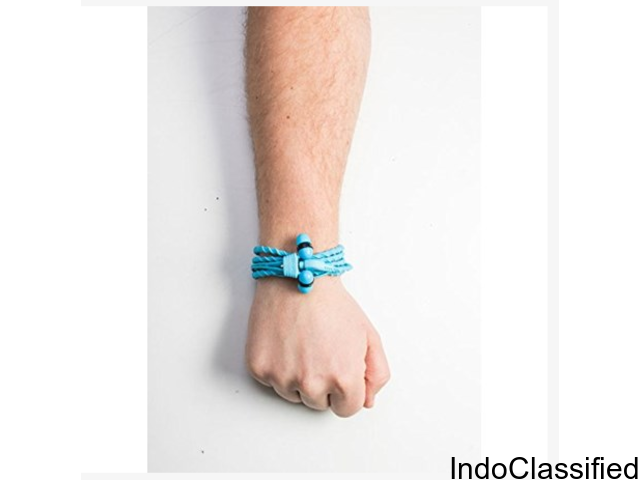 Buy Wraps Wearable Braided Wristband Headphone Online at Maple