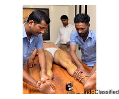 Paralysis Treatment using Medication and massage therapy