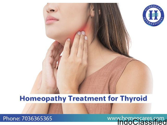 Get your Thyroid treated effectively with Homeopathy in Hanamkonda