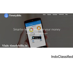 Free Bill Reminder Application Online - Timelybills.in