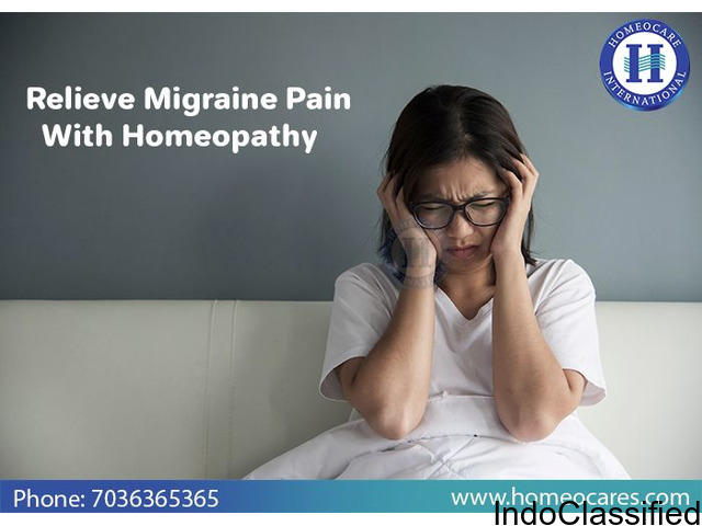 Cure Migraine with Homeopathy Treatment in Begumpet