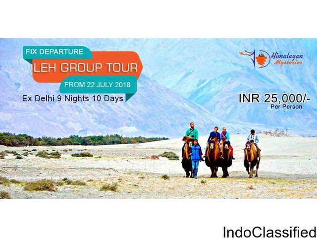 Leh Ladakh Tour 2018