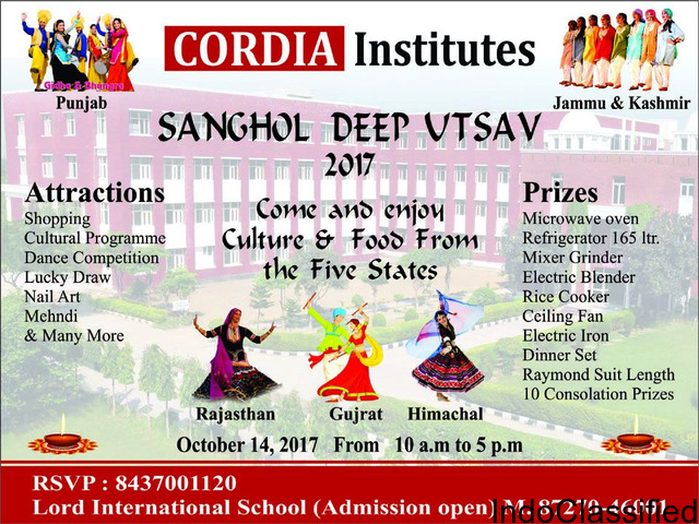 Deep Utsav at Cordia Institutes