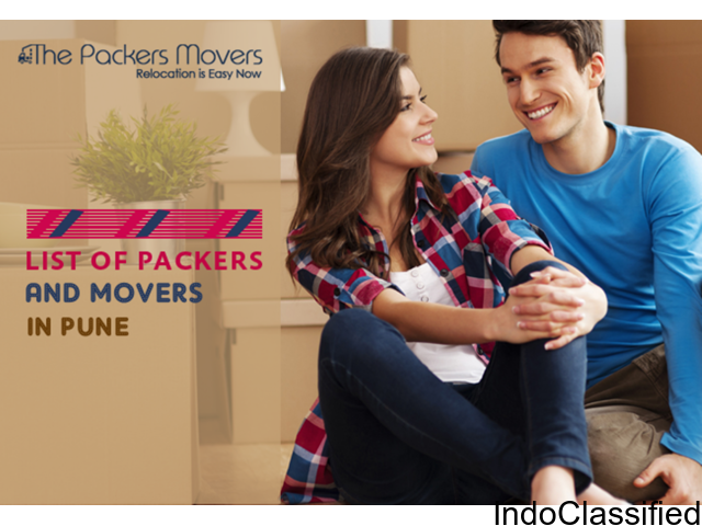 To Choose Best Suitable One Explore List of Packers and Movers in Pune at Thepackersmovers.com