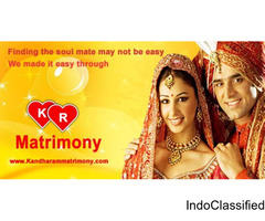 Find lakhs of Brides and Grooms on kandharammatrimony
