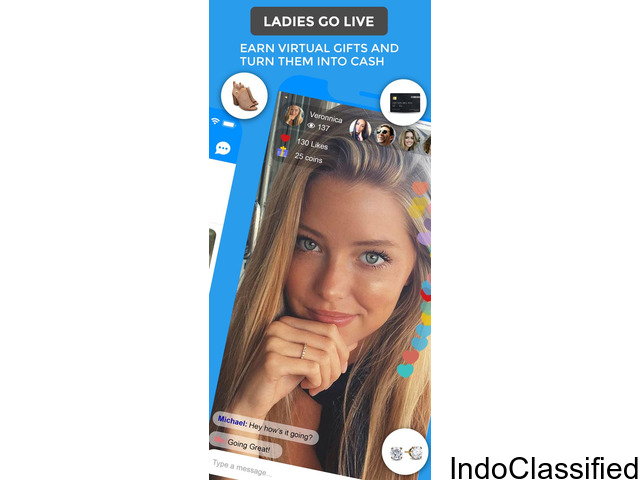 Free Dating App - Live Video Broadcast