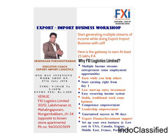 Export – Import Business Workshop